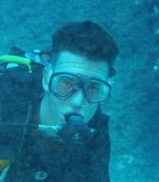 Divemaster trainee Gozo